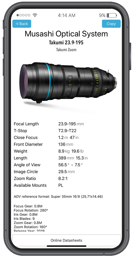 LENSER Screenshot - Drilldown - Lens
